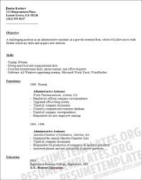 Sample Resume For Admin Assistant by Best Administrative Assistant Resume Objective Article1 Resume