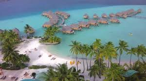 aerial views of the bora bora pearl beach resort u0026 spa youtube