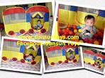 บ้านบอล,บ่อบอล,บ่อกระโดด,สระน้ำ - Sunsun Toys : Inspired by LnwShop.