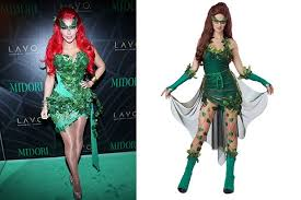 Poison Ivy Halloween Costume Kids Celebrity Inspired Halloween Costumes Sale Celebuzz