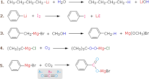 Alkyl Halide Reactivity MSU Chemistry Another important reaction exhibited by these organometallic reagents is metal exchange  In the first example below  methyl lithium reacts with cuprous