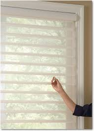 hunter douglas silhouette window shadings with ultraglide lifting