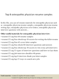 Top   osteopathic physician resume samples In this file  you can ref resume materials for
