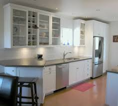 very small kitchen with small custom kitchen cabinet designs and magnificent small kitchen with white subway backsplash also under mount sink and small white cabinets