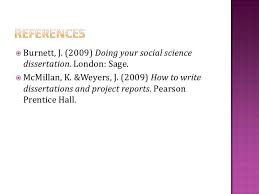 This is a brief introduction to writing a research proposal for a project or dissertation