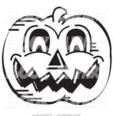 halloween clipart pumpkin halloween evil pumpkin clipart black and white collection