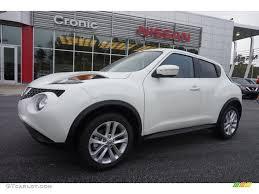 nissan juke white and red 2015 pearl white nissan juke sv 102845468 gtcarlot com car