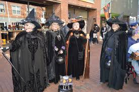 halloween parade background happy halloween salem ma new england nomad