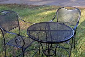 Spray Painting Metal Patio Furniture - restore metal outdoor furniture to