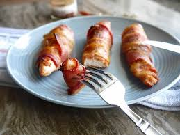thanksgiving turkey wrapped in bacon bacon wrapped chicken tenders paleo gf perchance to cook