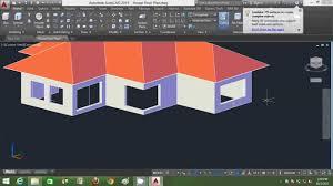 autocad 3d house modeling tutorial beginner basic using autocad