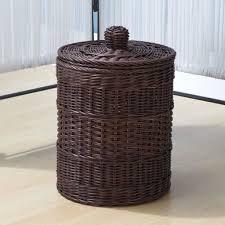 Ikea Wicker Baskets by Bathroom Traditional Hanging Wicker Bathroom Storage Basket