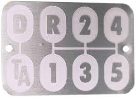 transmission shift pattern plate torque amplifier parts