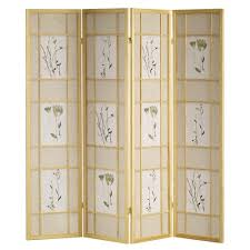 retractable room divider room dividers home accents the home depot