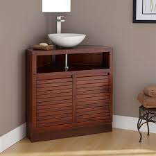 Vanity Units With Drawers For Bathroom by Corner Bathroom Vanity Units For Your Bath Storage Solution