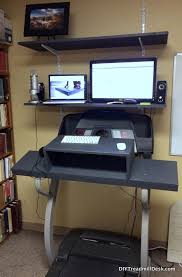 diy treadmill desk walking and working to a better life