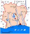 コートジボワール:コートジボワール地図