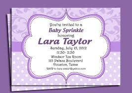 lavender invitation printable or printed with free shipping