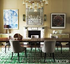 Decorating Ideas Dining Room 13 Green Rooms With Serious Designer Style