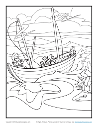bible coloring pages paul u0027s shipwreck