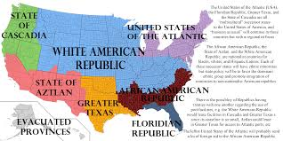A Map Of America by A Partition Of The United States Part 2 3 Atlantic Centurion