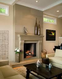 fireplaces modern fireplace cornice cast concrete fireplace