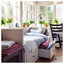 Cute Daybeds Fascinating Ikea Trundle Bed With Gable Storage Headboard Using