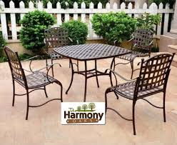 Black Wrought Iron Patio Furniture Sets by Patio Clearance Patio Dining Sets Home Interior Design
