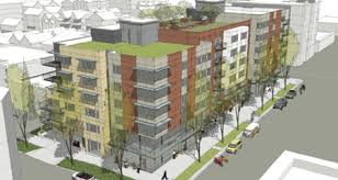 My Ballard  Design Review Meeting For Old Library Site - Apartment building design