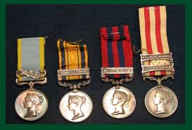 Awards And Decorations Branch by Medical Awards From Great Britain British Campaign Medals Four