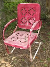 chair c 40 u0027s vintage metal outdoor bliss
