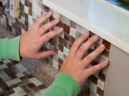 How To Install A Backsplash Howtos DIY - Peel on backsplash