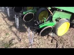 John Deere 7100 Planter by John Deere 7000 Seed Plot Planter Youtube