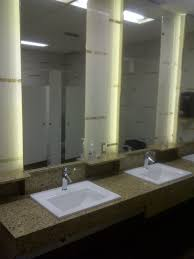 led lighting behind bathroom mirror interiordesignew com