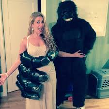 Sea Monster Halloween Costume by The Best Celebrity Couples Halloween Costumes Ever Glamour