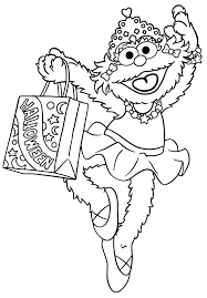 cute halloween coloring pages printable sesame street coloring pages getcoloringpages com