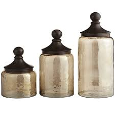 Glass Kitchen Canisters Airtight by Sundarra Glass Canisters Pier 1 Imports