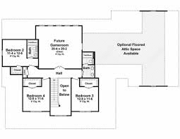 Elevation Symbol On Floor Plan Country Style House Plan 4 Beds 3 50 Baths 3000 Sq Ft Plan 21 323