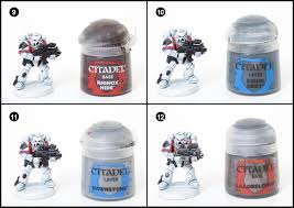 tutorial how to paint white scar space marines tale of painters