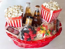 Halloween Gift Basket by Christmas Gift Baskets Movie Night Basket Hgtv And Christmas Gifts