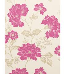 Shabby Chic Pink Wallpaper by Top 10 Floral Wallpapers Cosy Home Blog