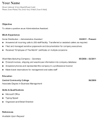 Resume Sample For Long Term Employment by Resume Chronilogical Resume