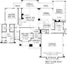 Single Story Open Concept Floor Plans 3 Bedroom Floor Plan House Design Ideas 2017 2018 Pinterest
