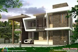 223 sq m 4 bedroom contemporary home kerala home design