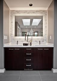 Vanity Dresser Comely Brown Vanity Dresser Plus Double Sinks And Modern Spigots