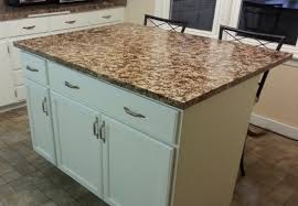 how to build a kitchen island with wall cabinets