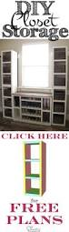 Simple Free Standing Shelf Plans by Best 25 Storage Shelves Ideas On Pinterest Diy Storage Shelves