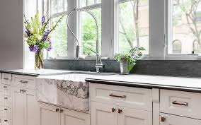 Marble Apron Sink Design Ideas - Marble kitchen sinks