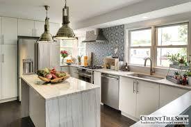 Tiling A Kitchen Backsplash Cement Tile Shop Blog Encaustic Cement Tile