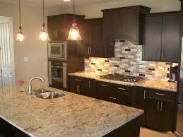 home design layered stone backsplash ideas craftsman large